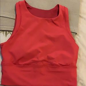 Star Ruby color Kick Swerve Sweat bra